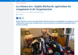 ITV Ordolys La relance eco sur France Bleu Touraine